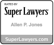 Allen Jones Super Lawyers badge