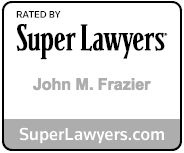 John Frazier Super Lawyers badge